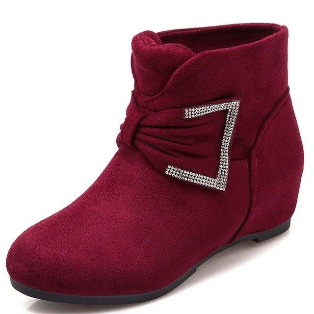 hiver bottes femmes Nouvelles cuir souple en Meilleur qR354LAj