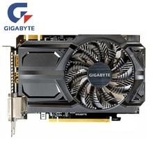 GIGABYTE GTX 950 2 GB видео карты GV-N950OC-2GD D5 GDDR5 N950D5 2GD Графика карты для nVIDIA Geforce GTX950 2G Hdmi Dvi карты