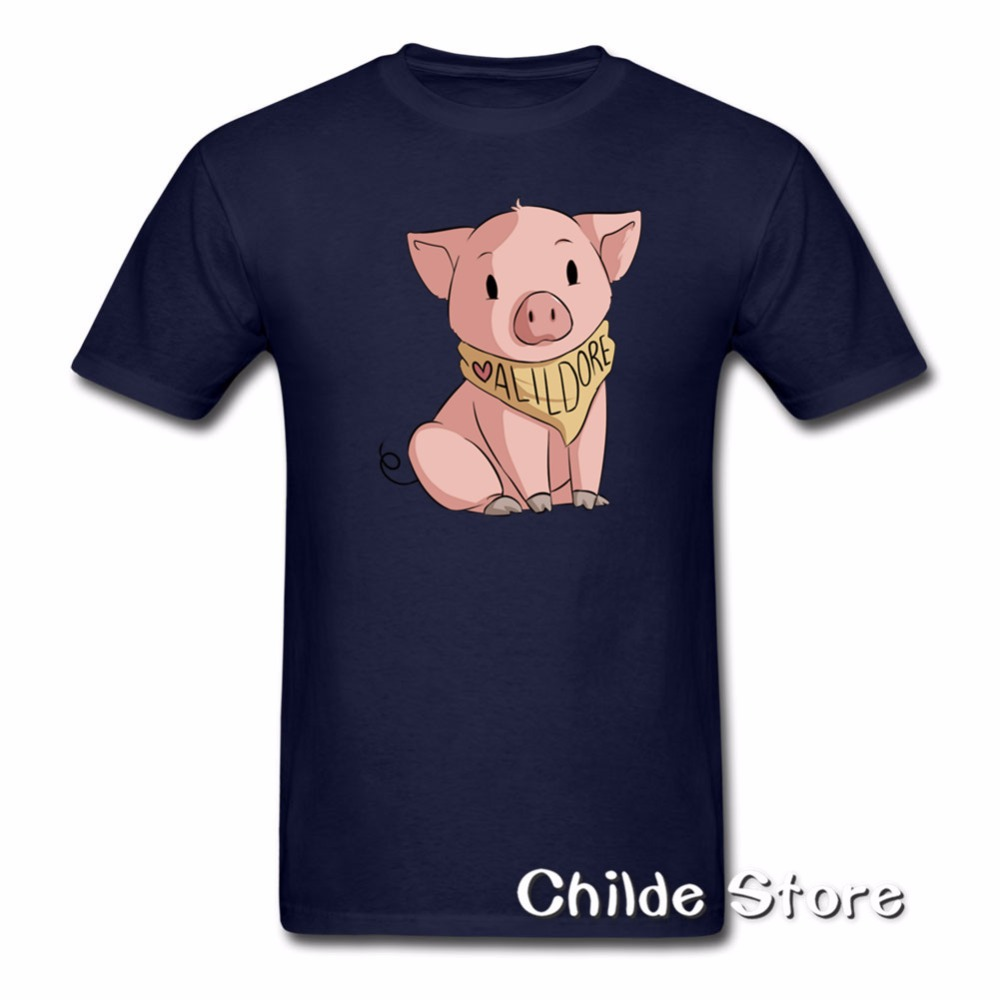 b166cc272 Shane Dawson Oh My God Pig T Shirt 2018 Short Sleeve O Neck 100 ...