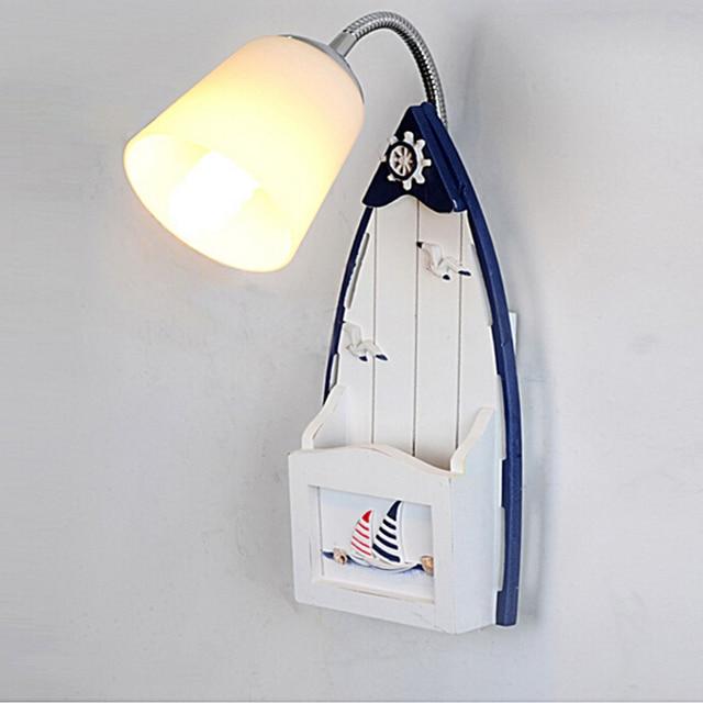 kids wall lighting. Sailing Seabirds Kids Wall Lamp Bedside Reading Lamps Mediterranean Children Room Light Led E14 110V Lighting R