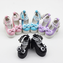 1pair 7.8 cm Assorted Colors Princess High Heel Shoes for BJ