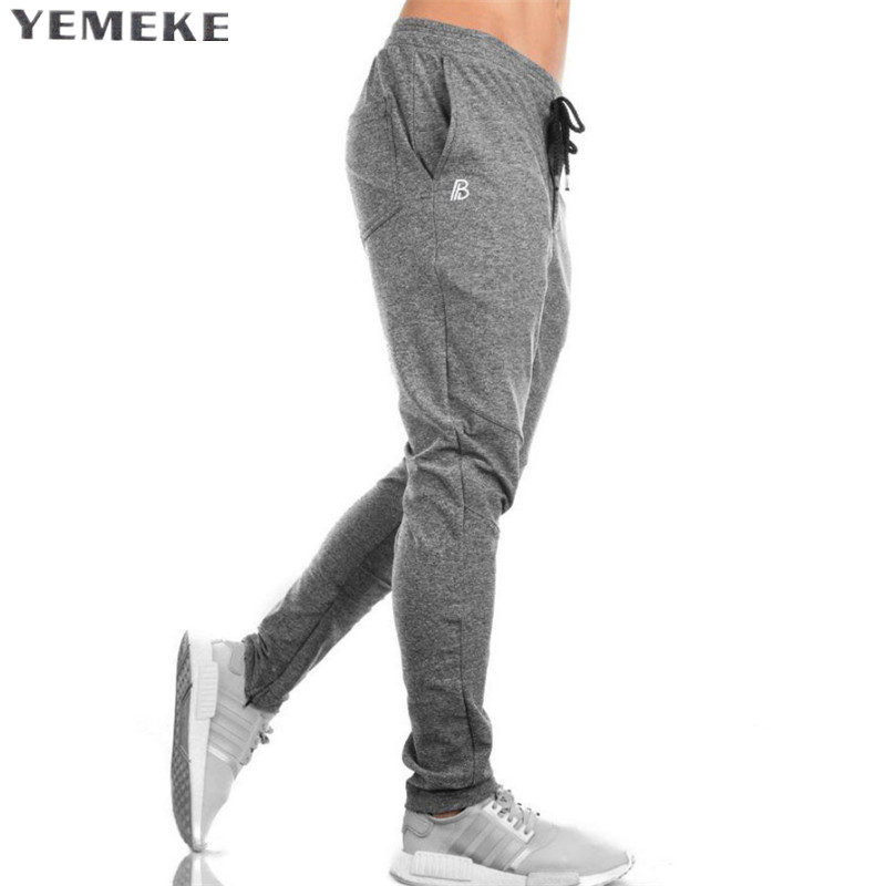 2018 GYMS New Men Pants Compress Gymming Leggings Men Fitness Workout Summer Sporting Fitness Male Breathable Long Pants