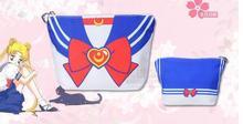 5pcs/lot Japanese Sailor Suit JK Uniform Tote Bag Bowknot Print Bags For Sweet Girls