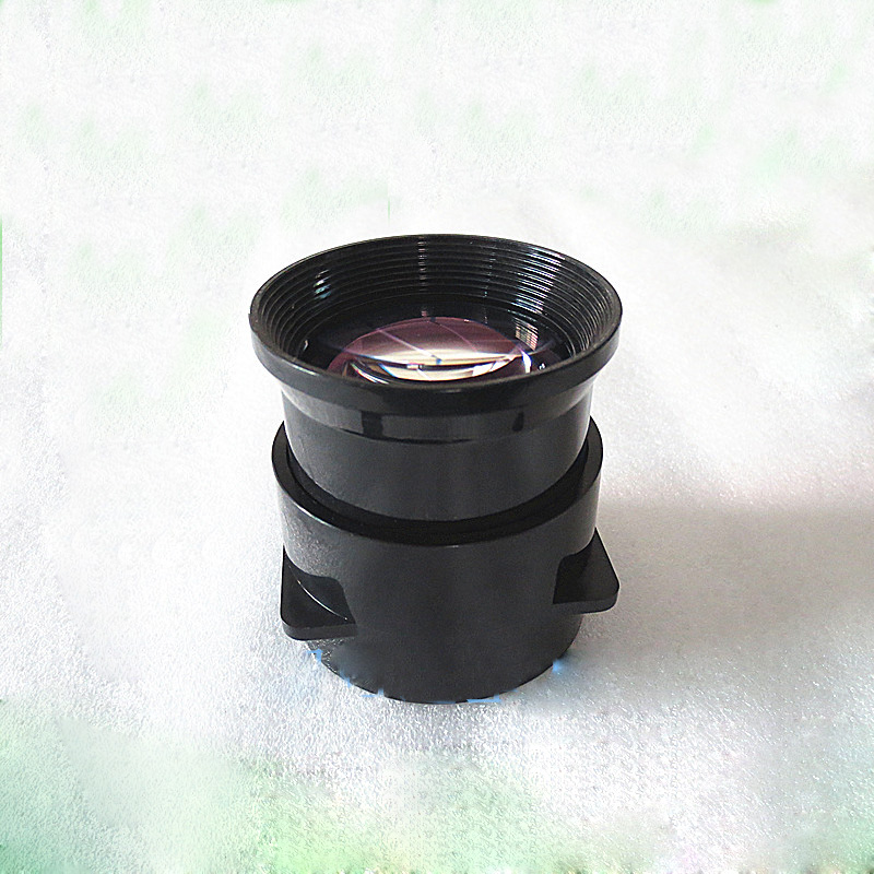 High Light HD Projector LED Short Focal Length 125mm Lens Coated with Film Focusing Lens doumoo 330 330 mm long focal length 2000 mm fresnel lens for solar energy collection plastic optical fresnel lens pmma material