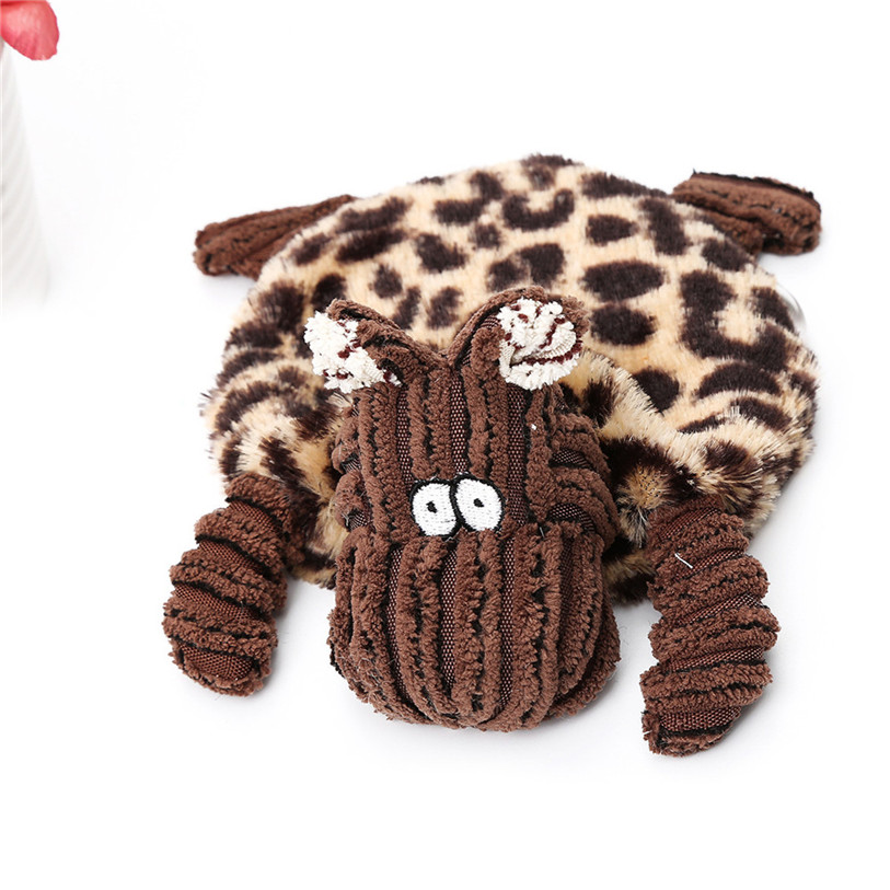 Cute Plush Pet Squeak Toys Animal Shape Sound Dog Toys For Small Large Dogs Cats Puppy Molar Chew Toys Wholesale #F#40AT29 (12)