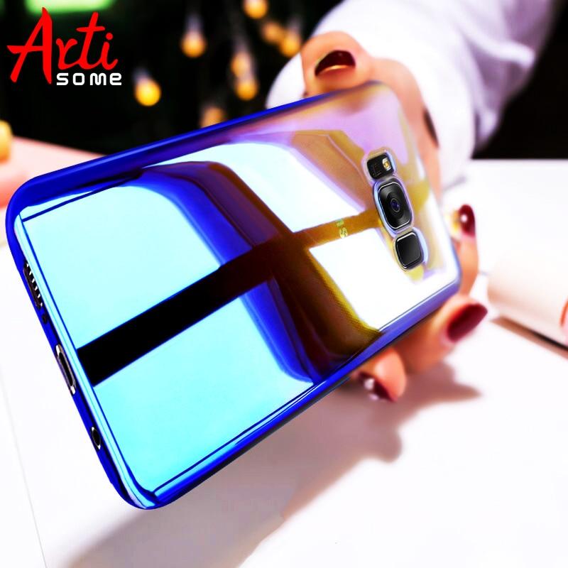 ARTISOME Pouzdro pro Samsung S8 S8 Plus Aurora Gradient Color Hard - Příslušenství a náhradní díly pro mobilní telefony