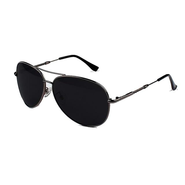 Aviator gafas de Sol Hombres Lente Polarizada Conductor Espejo Gafas de sol Masculinas gafas de Sol la Pesca Deportes Al Aire Libre Eyewears AV317