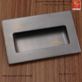 Stainless Steel 304 square handle invisible Recessed furniture Handle conceal drawer  flush pull