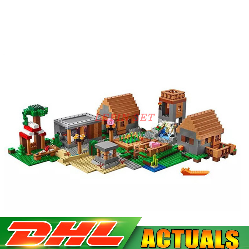 2018 New IN Stock LEPIN 18008 My World Series Village Model Building Blocks Bricks Model Toys for Children Gift Compatible 21128 concept driven 2sc0435t 2sc0435t2a0 17 new stock