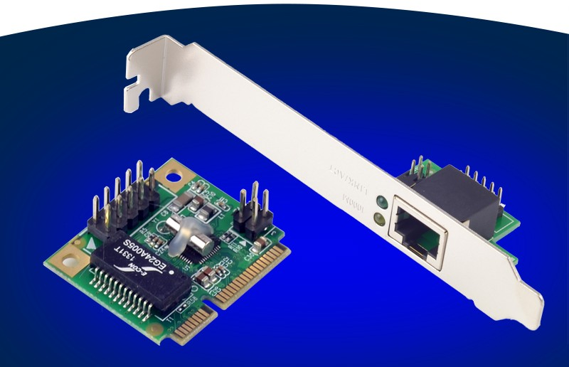 New Mini PCI E Gigabit Ethernet Adapter Lan Network Card 10/100/1000M For Server