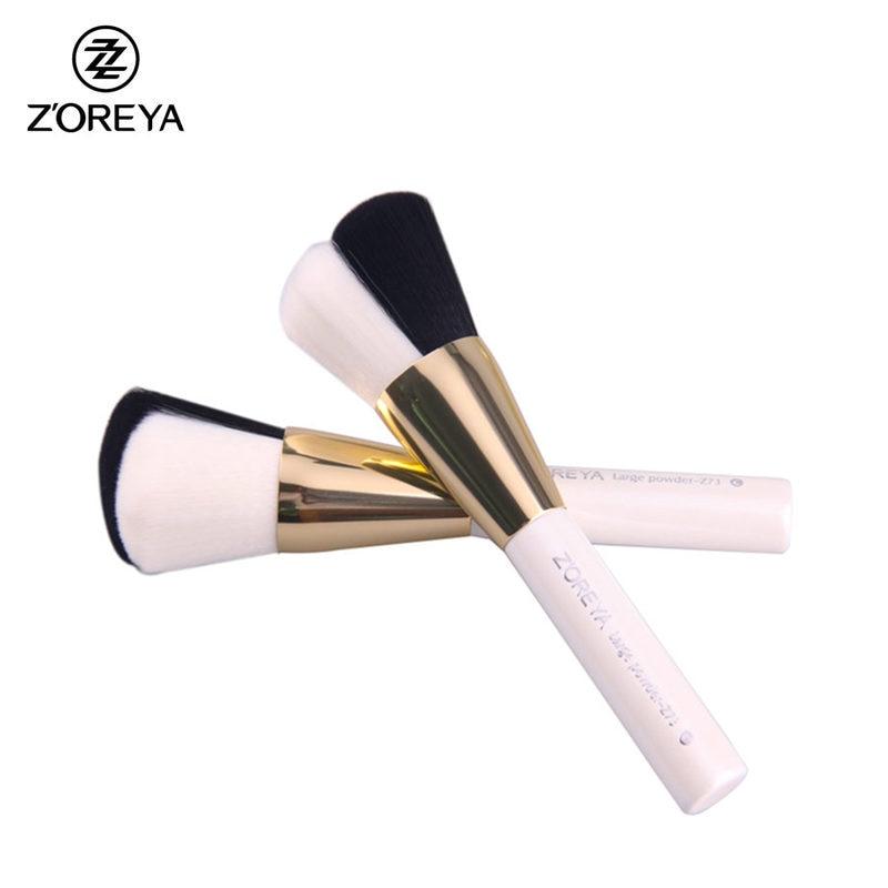 ZOREYA Professinal Multifunction Powder Brush Blusher Makeup Brushes Synthetic Hair Cosmetic Tool Unique Pinceis Maquiagem isadora perfect powder blusher 24 цвет 24 sugar brown variant hex name b07a73