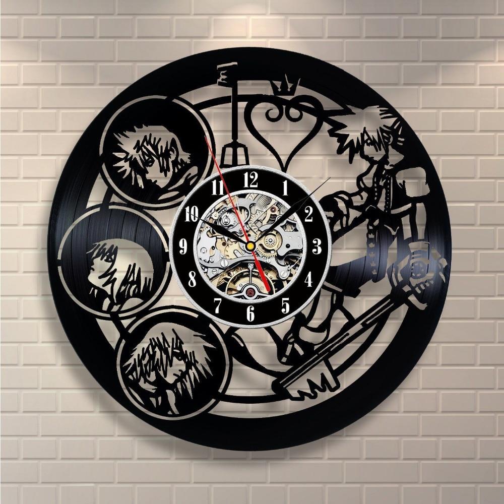 Современные Дизайн CD Виниловая пластинка настенные часы Relogio де Parede