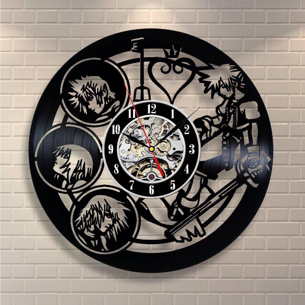 Modern Design CD Vinyl Record Wall Clock Wall Clock Watch Relogio De Parede
