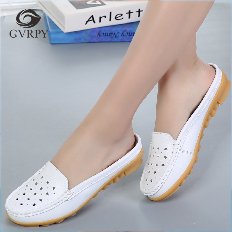 Hospital Surgical Medical Slippers Hollow Breathable Shoes Doctor Nurse Dentist Waiter Workwear Shoes Lab SPA Beauty Salon Shoes