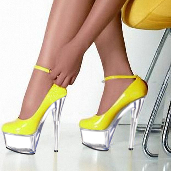 2016 Real New Arrival 15cm Ultra High Heels Platform Shallow Mouth Shoes Crystal Gorgeous Woman High-heeled Pumps 15cm ultra high heels sandals ruslana korshunova platform crystal shoes the bride wedding shoes