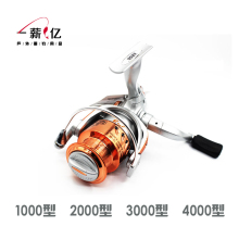 Metal bearing type 1000-4000 3 axis fishing  reel wheel fishing sea rod wheel