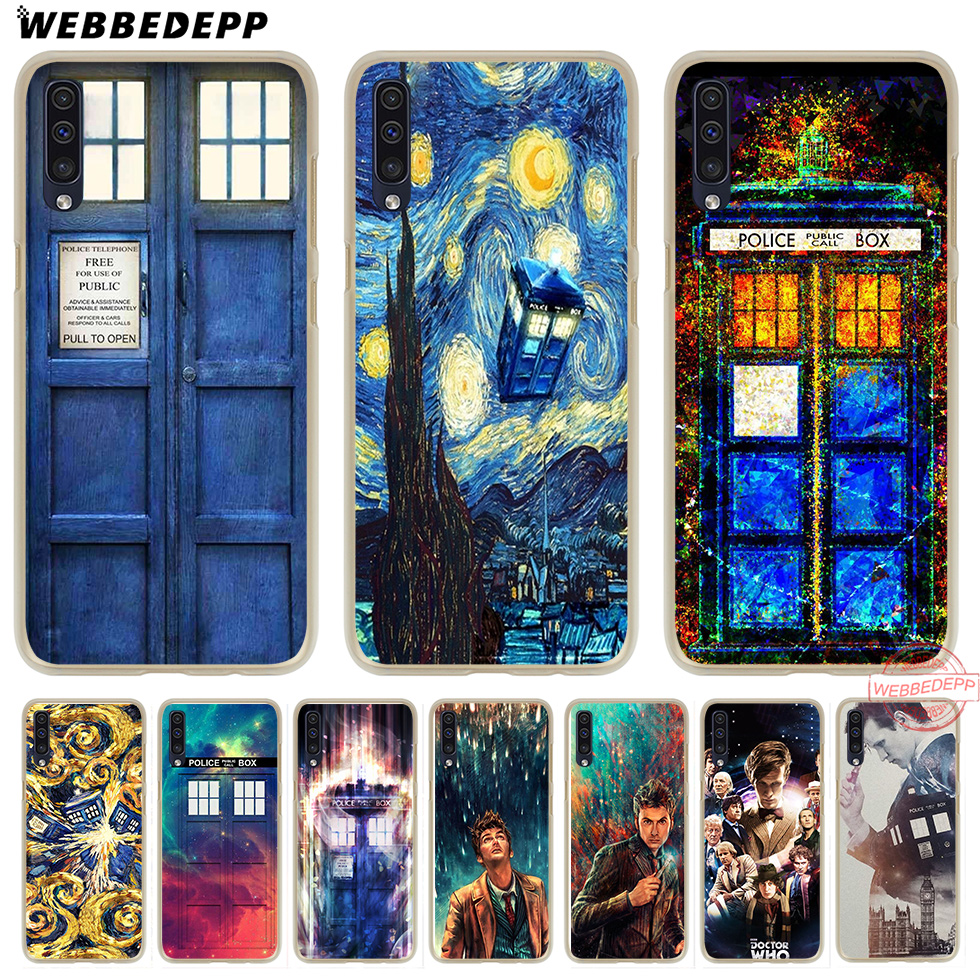 Careful Webbedepp Doctor Who Hard Transparent Phone Case For Samsung A10 A30 A40 A50 A70 M10 M20 M30 Cover To Assure Years Of Trouble-Free Service Cellphones & Telecommunications Phone Bags & Cases