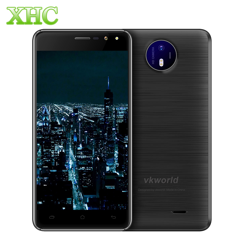 VKworld F2 5.0 inch Smartphone 16GB ROM Android 6.0 RAM 2GB MTK6580A Quad Core 3G WCDMA Cell Phones Dual SIM OTA Mobile Phone