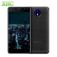 Vkworld F2 5.0 дюймов смартфон 16 ГБ ROM Android 6.0 ОЗУ 2 ГБ MTK6580A Quad Core 3 г WCDMA сотовый Телефоны Dual SIM оты мобильного телефона