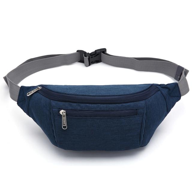 environment safe belt fabric cross body bag money travel waist bag string closet organizer printing mens shoulder bag man belt