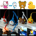 Universal Cartoon phone light-emitting data line intelligent Android phone for Samsung / HTC/ Xiaomi /Meizu & more Device Cable