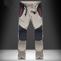 Hot Brand Outdoor Men Trekking Hiking Pants Quick Dry Sports Fishing Trousers Spring Summer Tactical UV Protection Camping Pants