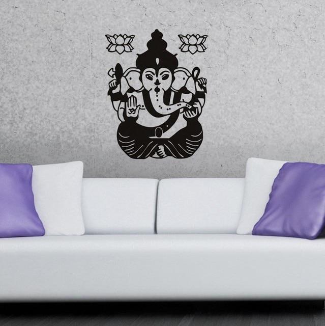 Elephant Wall Decor aliexpress : buy ganesha lord indian elephant wall decor