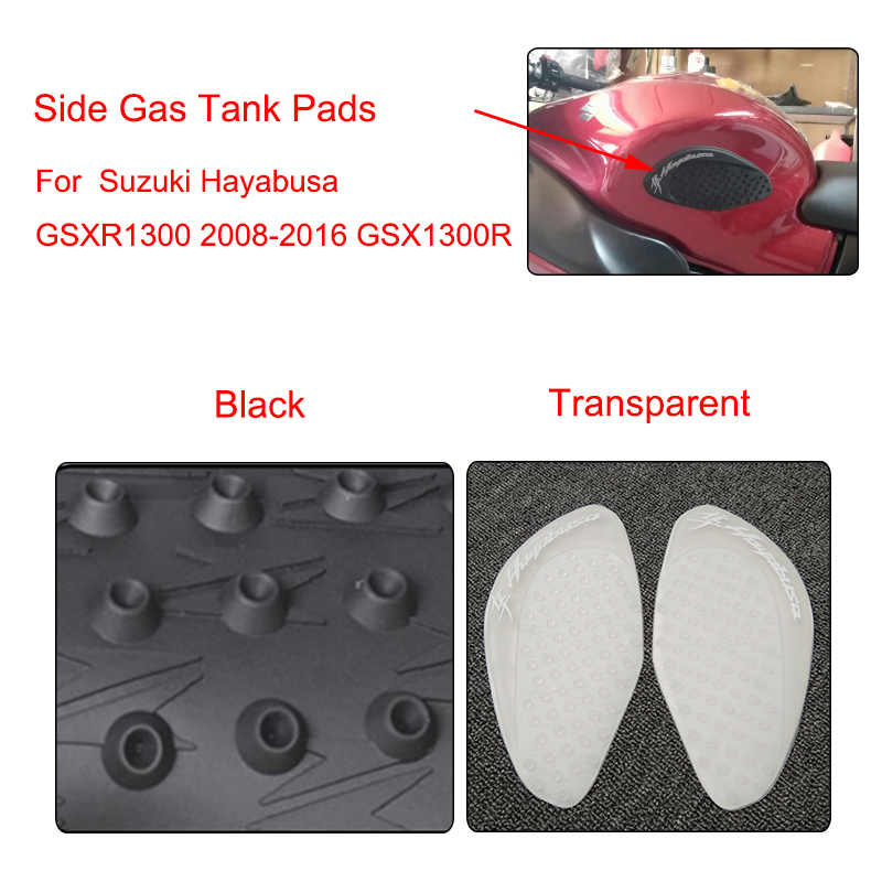 Gas Tank Protector Fuel Tank Sticker Knee Grips for Hayabusa 1300 GSXR1300