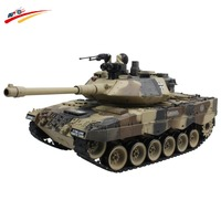 RC Tank German Leopard 2 Tactical Vehicle Main Battle Military Truck 15 CH 1/20 Recoil Effect Tank Model Electronic Hobby Toys
