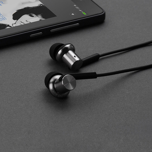 Image 4 - Original Xiaomi Mi In Ear Hybrid Pro HD Earphone With Mic Noise Cancelling Mi Headset for Mobile Phones Huawei Redmi 4