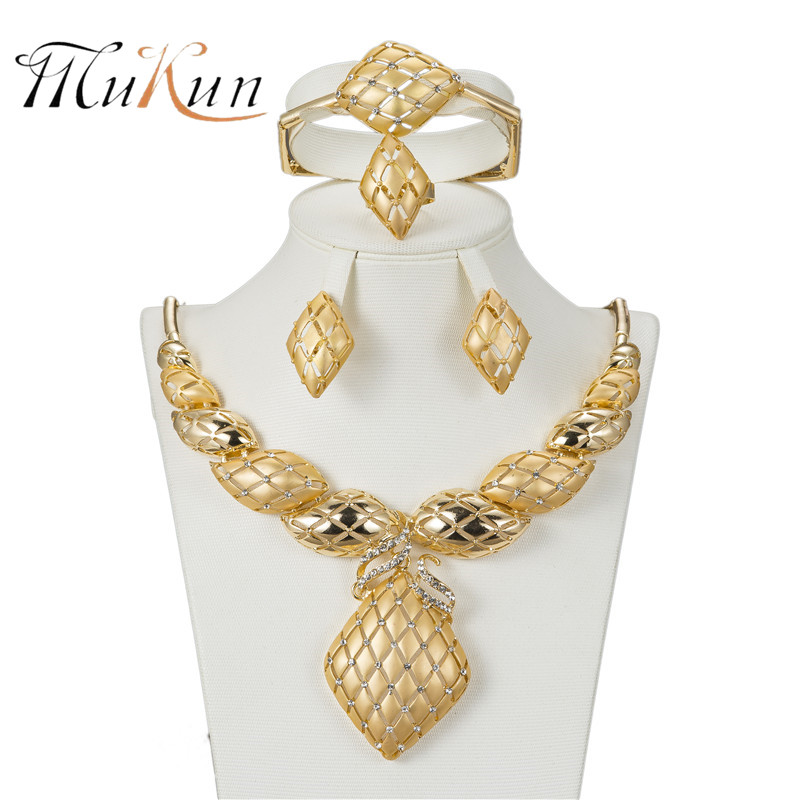 MUKUN Dubai Jewelry Sets...