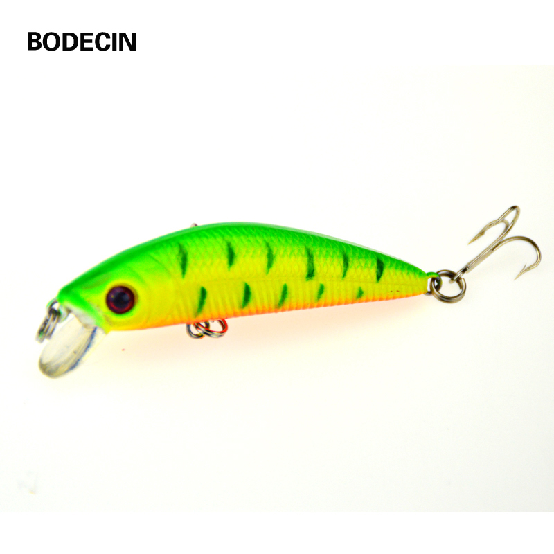 1pcs Fishing Lures Lure Artificial Bait Peche Tackle Wobblers For Pike Fly 6# Hooks 3D Eyes Fake Baits Minnow 7CM - 8G Sea Bass seapesca minnow fishing lure 70mm 8g 3d eyes crankbait wobblers artificial plastic hard bait peche fishing tackle jk9