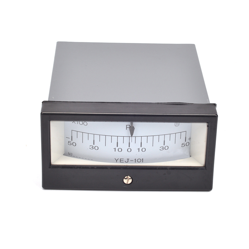New YEJ-101 -5~5KPA Square Diaphragm Pressure Gauge Film Box Pressure Gauge Square Pressure gauge Positive and Negative 5KPa