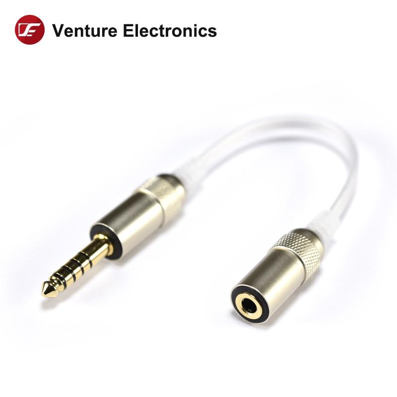 Venture electronics adaptador cabos 4.4 a 2.5, 3.5 ou 2.5, 3.5 a 4.4