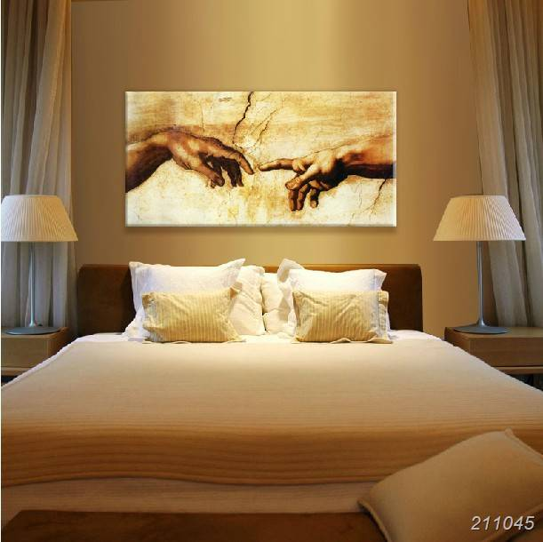 Single Art Oil Paintings Canvas Famous Old Masters Michelangelo ...