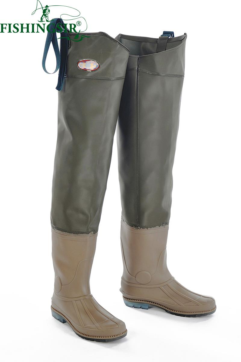 Popular hip waders buy cheap hip waders lots from china for Fishing waders with boots
