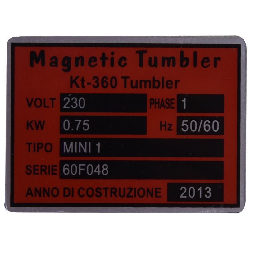 Fordított mágneses dobozos KT-360A 110V / 220V ékszer-polírozó - Elektromos kéziszerszámok - Fénykép 5