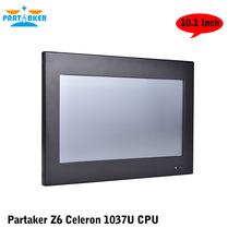 Partaker Z6 Intel Celeron 1037u Desktop All In One PC With Made-In-China 4 Wire Resistive Touch Screen