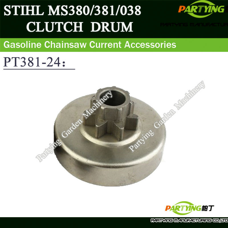 Partying OEM Chainsaw Replacement Parts CLUTCH DRUM CHAIN DRIVE SPUR SPROCKET 3/8 7T FITS 038 MS380 MS381 1119 640 2000 rim sprocket 404 pitch x 7 teeth fits st chainsaw 070 ms720 free shipping cheap chain saw replacement parts