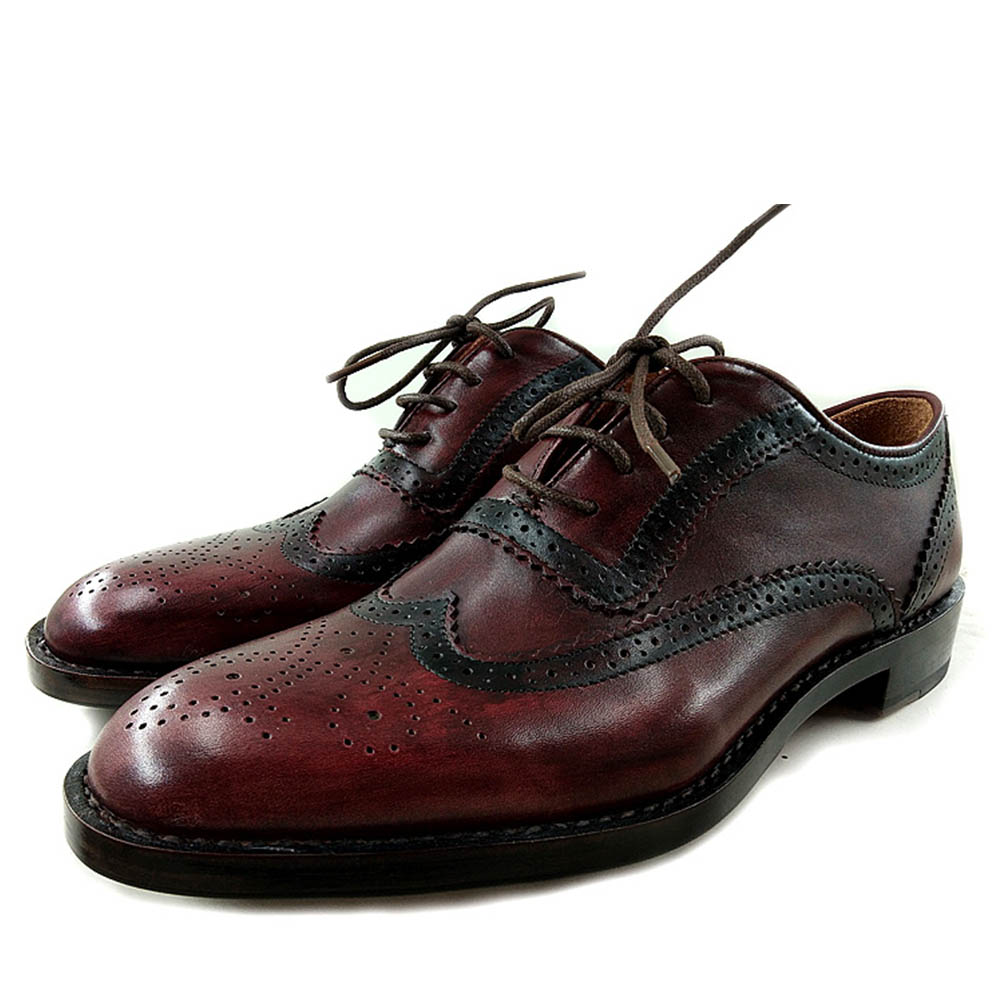 Sapatos Marca Vestem Goodyear Brogue Vermelho Sipriks Italiano Mens À Personalizado De Vinho Noite Completa Festa Welted Oxfords Wingtip Tinto Casamento qY0Sd