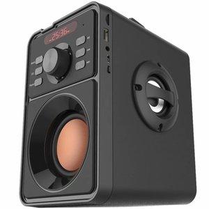 Image 3 - Junke 2.1 Bluetooth Di Động Không Dây Âm Thanh Stereo Loa Siêu Trầm Bass Nặng Loa Nghe Nhạc Hỗ Trợ Màn Hình Hiển Thị LED Đài FM TF