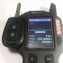 434 МГц 2 кнопки дистанционного ключа для Renault-с чипом 4A PCF7961M-HU136TE
