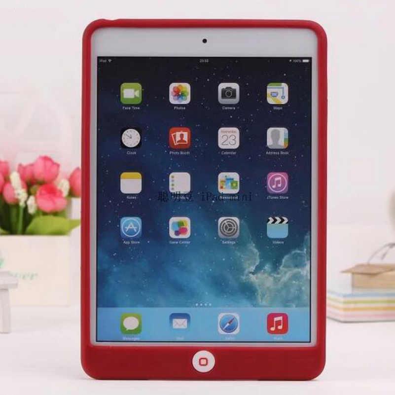 Smart judías y gelatina lindo silicio suave Gel funda protectora de goma para iPad Air 1/Air 2 para iPad 2/3/4 5 6