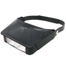 2.2X 3.3X шлем стиль держатель лупы увеличительное очки третьей руки очки лупа для чтения и часы Ремонт