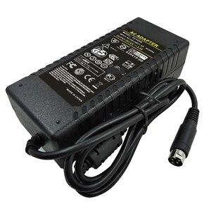 Image 4 - 12V 8A شاشة تلفزيون إل سي دي شقة شاشة تلفزيون مسطحة DVR محول كهرباء 12v 8.5a 4pin محول VCR محول 4 دبوس تحويل التيار الكهربائي شاحن