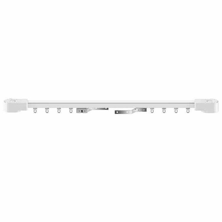 3 m ou moins En Aluminium Électrique Rideau rail piste Motorisé Plafond De Montage Fenêtre Rideau Rail pour Smart Home Système