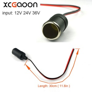XCGaoon 10 шт. розетка для автомобильного прикуривателя/сплиттер адаптер питания для мобильного телефона и планшета и автомобиля DVR и GPS