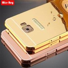 Luxury Mirror Aluminum Metal Bumper For Xiaomi Redmi 6 6A Note 7 Case mi 8 Cover 9 Phone Cases