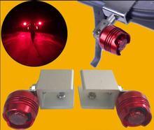 Аксессуары для электрического скутера Xiaomi mijia m365, алюминиевый сплав, драгоценный камень, задний свет, складной скутер, лягушка, свет, предупреждающий свет