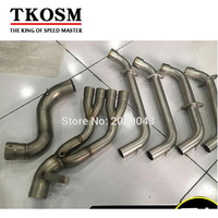 Motorcycle Exhaust Pipe For Honda CBR650F Pipe Front Row Side Intact For CBR650 Stainless Steel Elbow